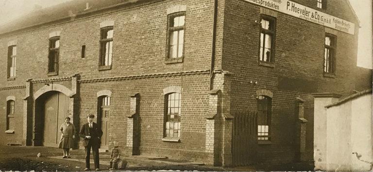 Pegels Gruppe - Historie 1927